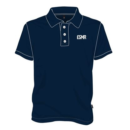 Picture of Polo Shirt with Buttons (Navy)