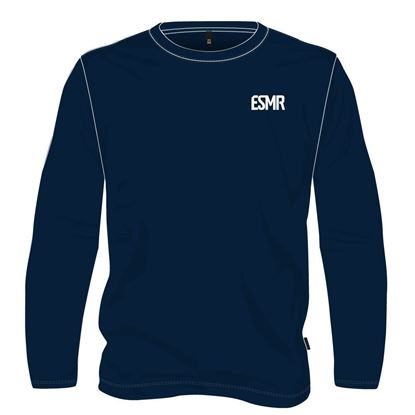Picture of Round neck hooded cotton (Navy)
